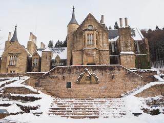 真冬のハートロック城