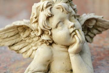 sweet angelic figurine