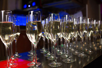 champagne catering for guests