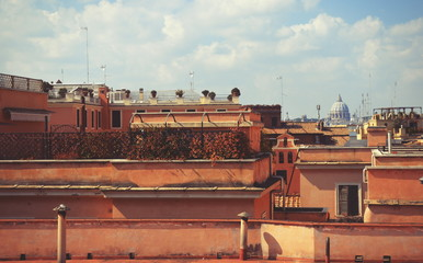 Fotomurales - Roofs of Italy in Rome
