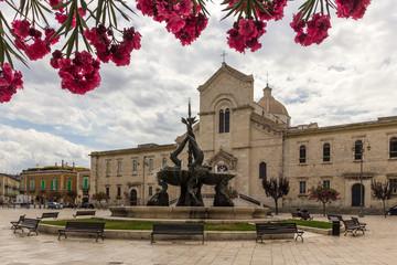 Giovinazzo city in Puglia in Italy