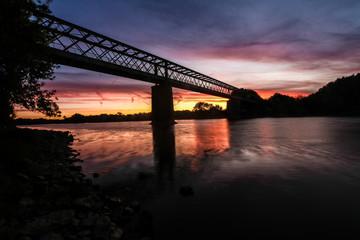 Photo du pont de pruniers (bouchemaine, angers) 1