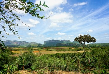 Day view of Vinales, Cuba