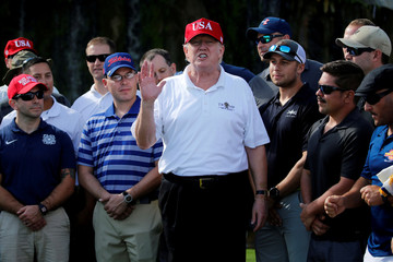 U.S. President Trump spends his holiday vacation in West Palm Beach