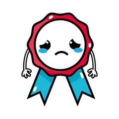 sad and tender medal prize kawaii