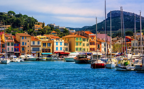 Cassis resort town, Provence, France