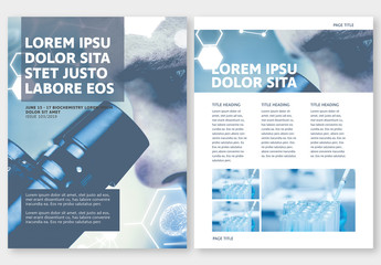 Brochure with Science Elements 3