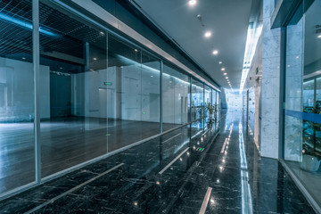 moderin office building interiors