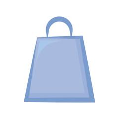 Shopping bag isolated cartoon