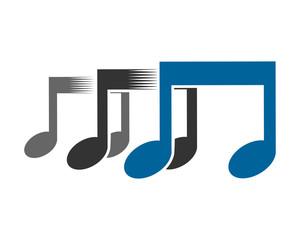 musical notes tone tune rhythm image vector