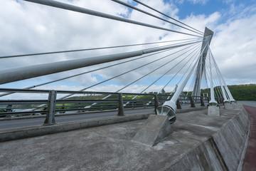 pont suspendu de terenez