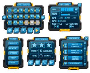 Sci-Fi Game GUI Pack