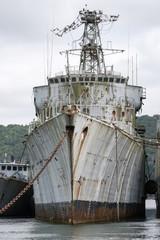 épaves de bateaux militaires