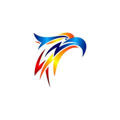 animal eagle bird vector logo