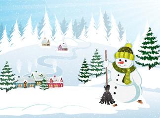 Christmas Holiday Village