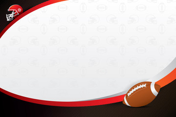 American  football  design background. Vector illustration