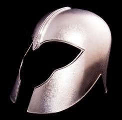 Shiny knights helmet