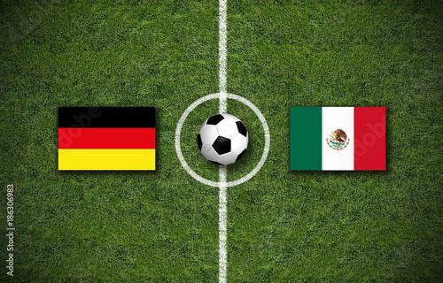 fußball deutschland gegen mexiko
