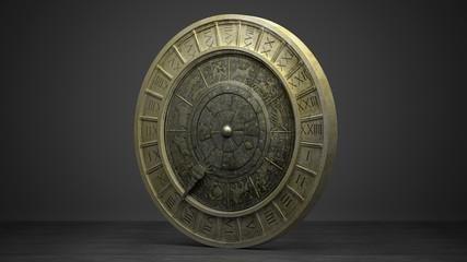 Segni Zodiacali, astrologia, oroscopo, illustrazione 3d