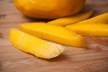 morceaux de mangue