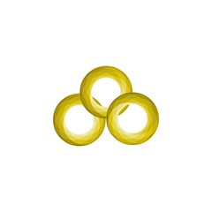 linked triple ring logo