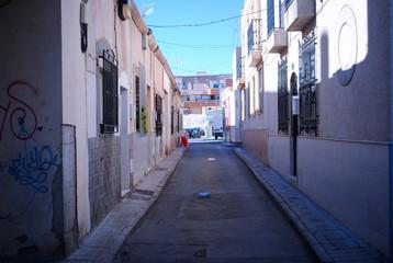 Calle de barrio, Almería