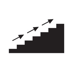 stairs icon- vector illustration