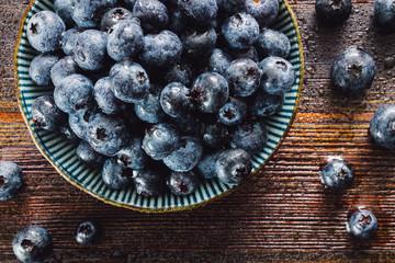 Fresh Washed Blueberries