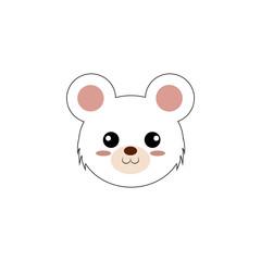Cute animal face