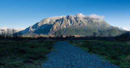 Mount Si near North Bend, Washington state