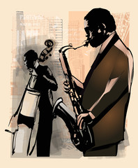 Wall Mural - Jazz in New York