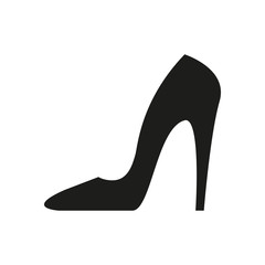 Heel black icon