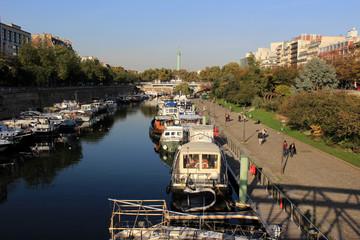 Paris - Port de l'Arsenal