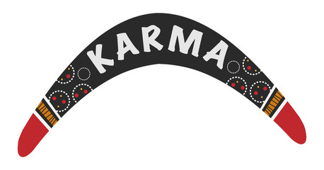 Karma is a boomerang