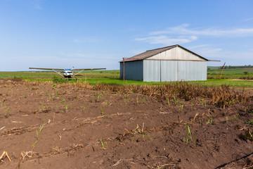 Plane  Aircraft Hangar Farm