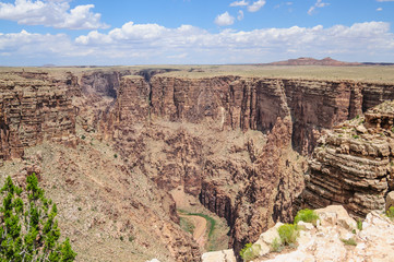 The Glen Canyon near Page