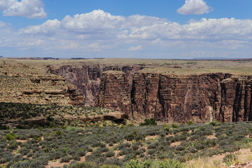 The Glen Canyon near Page