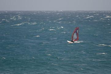 Windsurfer. Playa de Arinaga. Agüimes. Gran Canaria. Canary Islands. Spain.