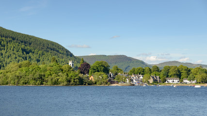 Kenmore village on Loch Tay
