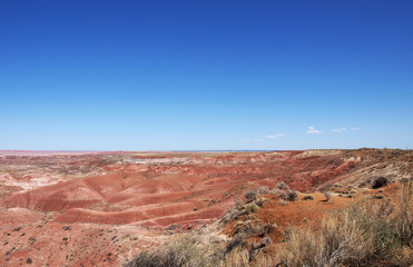 The Painted Desert in Arizona, a popular travel destination on the Great American Roadtrip.