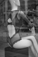 lingerie en vitrine