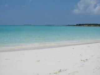 Caribbean Beach and Azure Sea