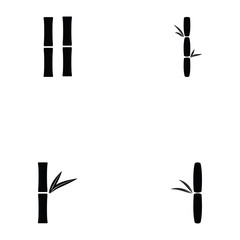 bamboo icon set