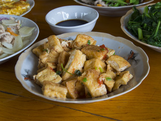 Tofu with soya - Vietnamese food