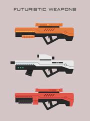 Futuristic Weapons - Sniper Rifle