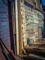Broken Wood House
