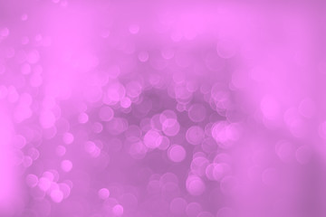 Pink blurred bokeh background