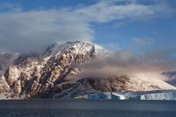 Foto auf Acrylglas Arktis Scoresbysund - Greenland