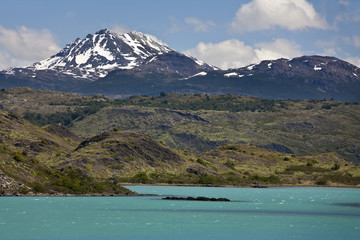 Lago Argentino in Patagonia - Argentina