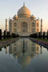 The Taj Mahal - Agra - India